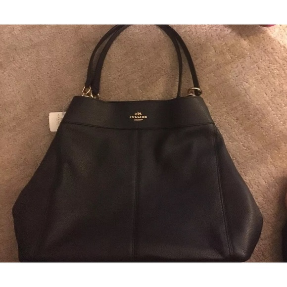 Coach F23511 Large Lexy Pebble Leather Bag 142c225283cdf